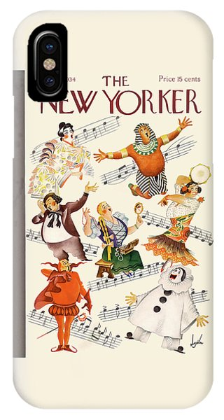 New Yorker January 13th, 1934 IPhone Case