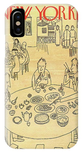 New Yorker January 13th, 1945 IPhone Case