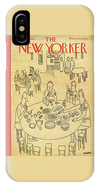 New Yorker January 13, 1945 IPhone Case
