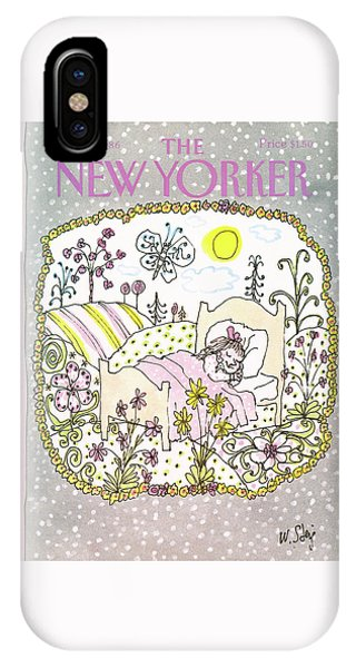 New Yorker January 13th, 1986 IPhone Case