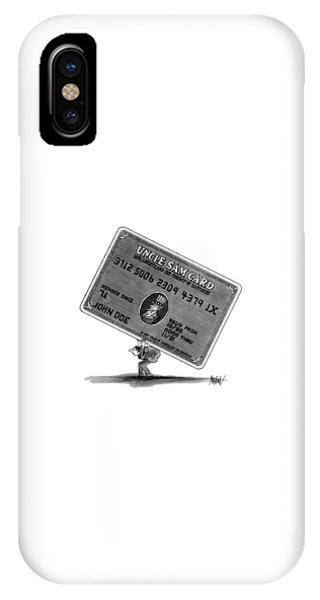 Debts iPhone Case - New Yorker January 14th, 1991 by Kenneth Mahood