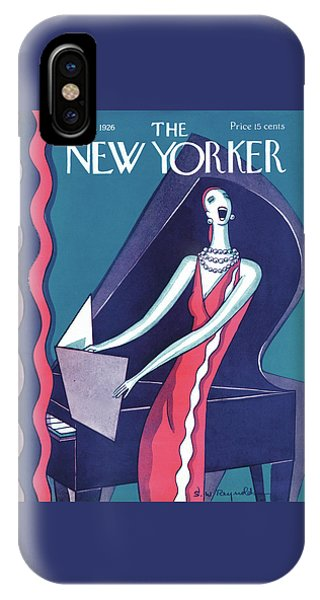 Representation iPhone Case - New Yorker January 16th, 1926 by S W Reynolds