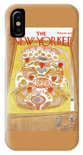 New Yorker January 1st, 1972 IPhone Case