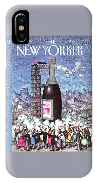 New Yorker January 1st, 1990 IPhone Case