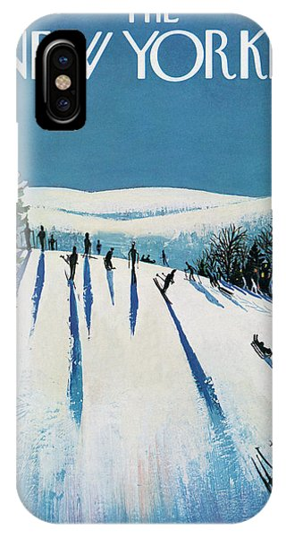 New Yorker January 20th, 1973 IPhone X Case
