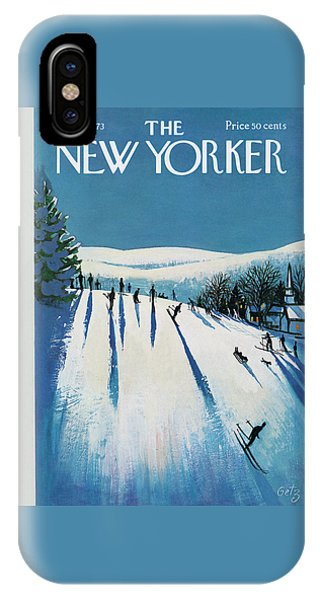 New Yorker January 20th, 1973 IPhone Case
