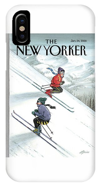 New Yorker January 24th, 2000 IPhone Case