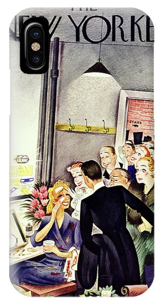New Yorker January 25 1936 IPhone Case