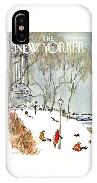 New Yorker January 27th, 1968 IPhone Case