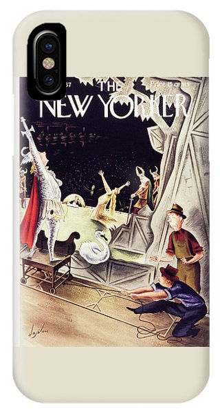 Representation iPhone Case - New Yorker January 30 1937 by Constantin Alajalov