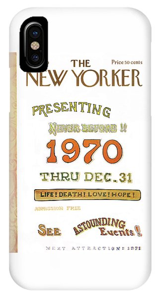 New Yorker January 3rd, 1970 IPhone Case