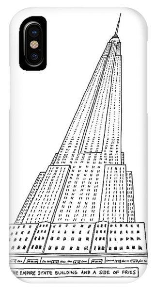 New Yorker January 4th, 1982 IPhone Case