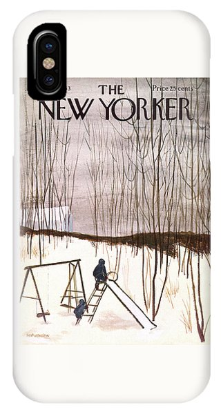 New Yorker January 5th, 1963 IPhone Case
