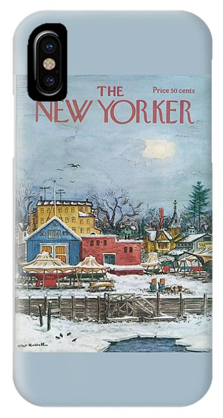 New Yorker January 6th, 1973 IPhone Case