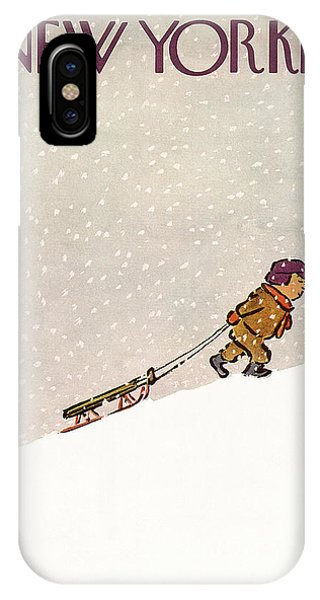New Yorker January 7th, 1956 IPhone X Case