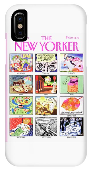 New Yorker January 7th, 1991 IPhone Case