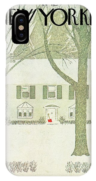 New Yorker January 8th, 1979 IPhone X Case