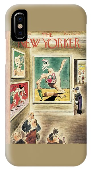 New Yorker January 9th, 1937 IPhone Case