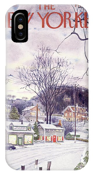 New Yorker January 9th, 1965 IPhone X Case
