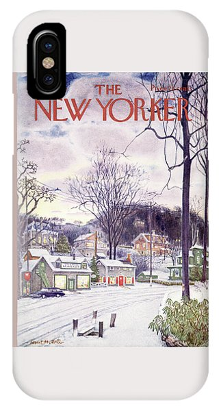 New Yorker January 9th, 1965 IPhone Case