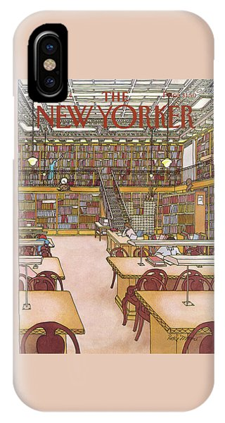 New Yorker January 9th, 1984 IPhone Case