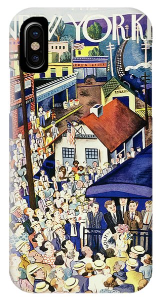 New Yorker July 13 1940 IPhone Case