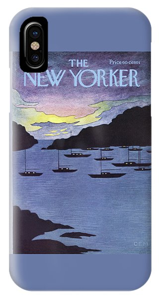 New Yorker July 14th, 1975 IPhone Case