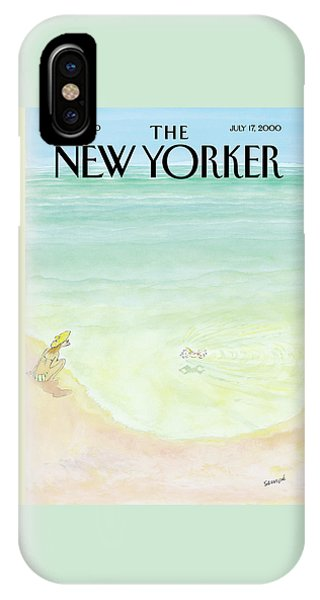 New Yorker July 17th, 2000 IPhone Case