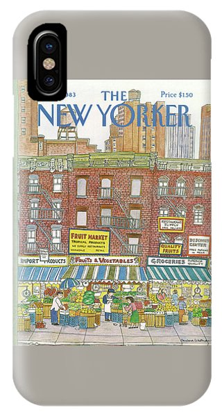 New Yorker July 18th, 1983 IPhone X Case