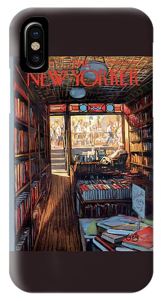 Reading iPhone Case - New Yorker July 20th, 1957 by Arthur Getz