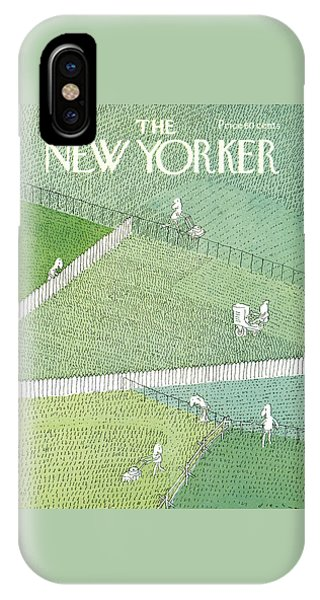 New Yorker July 21st, 1975 IPhone Case