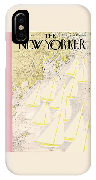 Magazine Cover iPhone Case - New Yorker July 23rd, 1938 by Arthur Getz