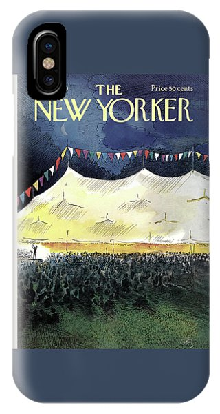 New Yorker July 25th, 1970 IPhone Case