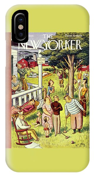 New Yorker July 27 1935 IPhone Case