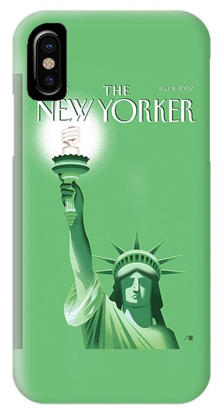 New Yorker July 2nd, 2007 IPhone Case