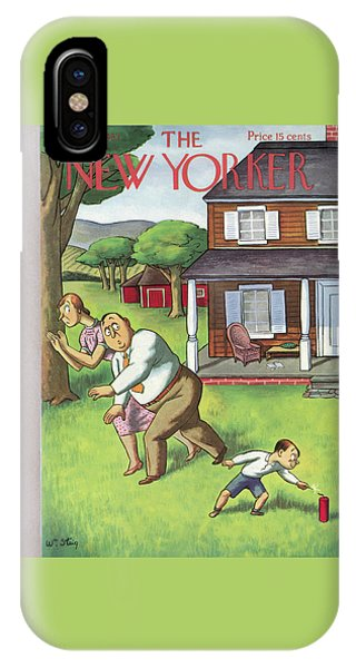 Representation iPhone Case - New Yorker July 3rd, 1937 by William Steig