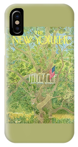 New Yorker July 3rd, 1971 IPhone Case
