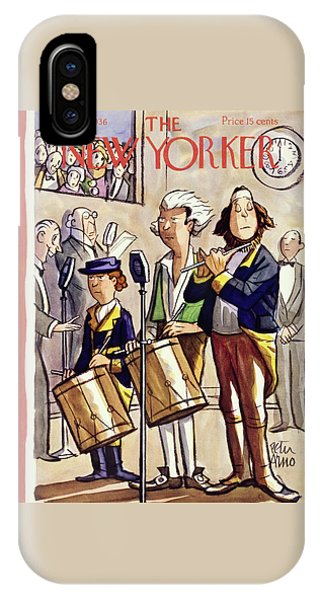 New Yorker July 4 1936 IPhone Case