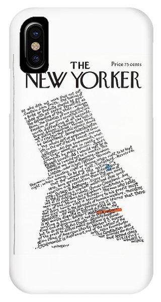 New Yorker July 5th, 1976 IPhone Case