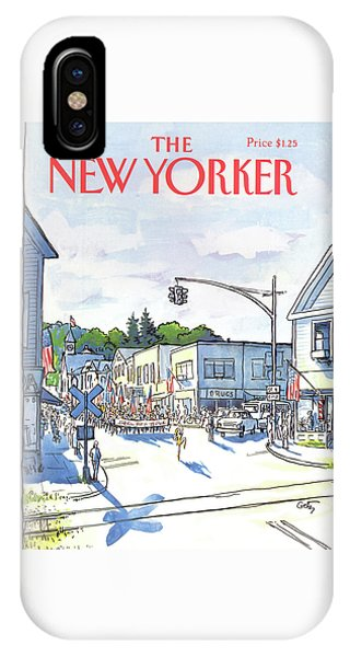 New Yorker July 6th, 1981 IPhone Case