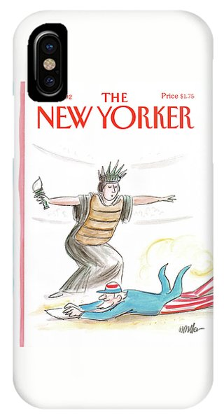 New Yorker July 6th, 1992 IPhone Case