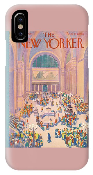 New Yorker July 7th, 1934 IPhone Case