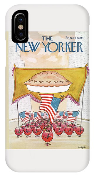 July 4 iPhone Case - New Yorker July 7th, 1975 by Robert Weber