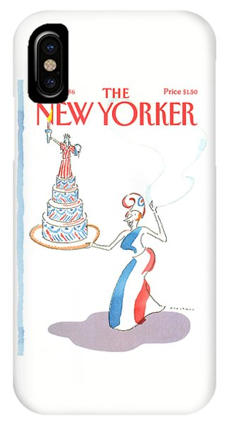 New Yorker July 7th, 1986 IPhone Case
