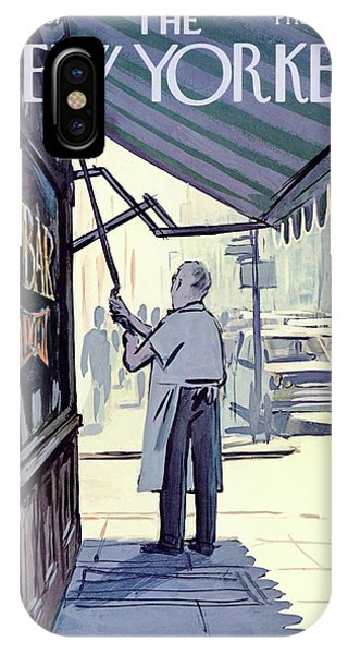New Yorker July 8th, 1967 IPhone Case