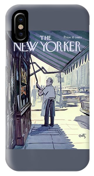 Small Business iPhone Case - New Yorker July 8th, 1967 by Arthur Getz