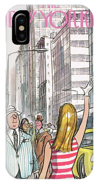 New Yorker July 8th, 1972 IPhone Case