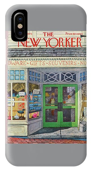 New Yorker July 8th, 1974 IPhone Case