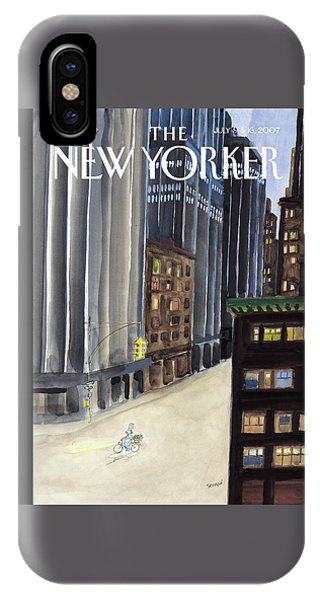 New Yorker July 9th, 2007 IPhone Case