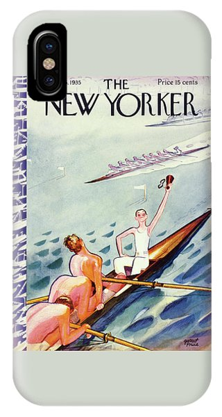 Representation iPhone Case - New Yorker June 15 1935 by Garrett Price